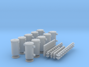 O scale Transformer Set with insulators in Frosted Ultra Detail