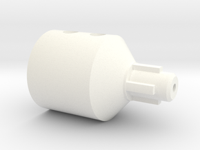 Connector Jobo CPE-2 Lift to Stepper in White Strong & Flexible Polished