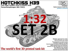 ETS32X01 - Hotchkiss H39 - Set 2B in Frosted Ultra Detail