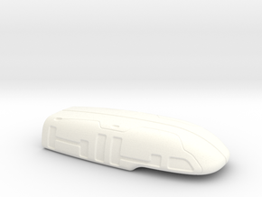 ARROW - Countermeasures Pod (Hollow) in White Strong & Flexible Polished