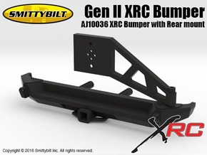 AJ10036 Gen II Rear XRC Bumper with Rear mount in Black Strong & Flexible