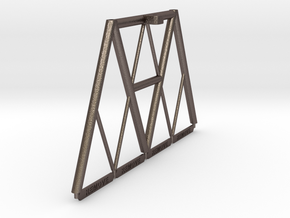 1/48th scale Cargo Pod Deck Frame Need 2 of these in Stainless Steel