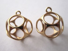 New Dod Earrings in 14k Gold Plated