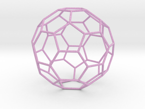 0475 Truncated Icosahedron E (13.5 �м) #005 in Full Color Sandstone