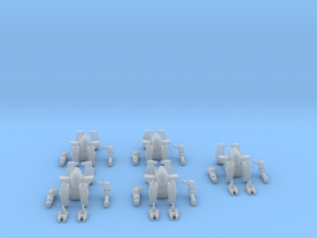 Renfield Assault Infantry Bot (pack of 5)  in Frosted Ultra Detail