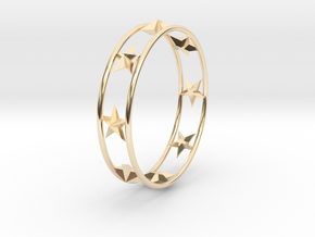 Ring Of Starline 14.1 mm Size 3 in 14K Gold