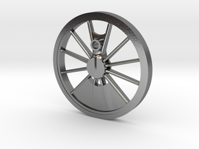 Reno, Inyo, Genoa Driver Wheel in Polished Silver