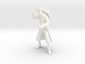 TF2 medic (proof of concept) in White Strong & Flexible Polished
