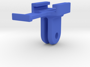 Cygolite Hotshot To GoPro Adapter Mount in Blue Strong & Flexible Polished