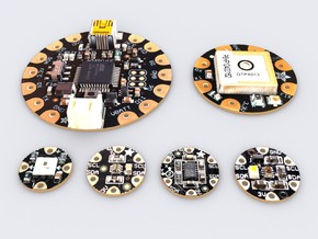 Adafruit Flora models in White Strong & Flexible