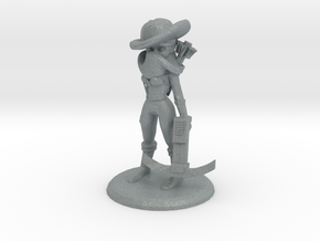 RAVEN THE BOUNTY HUNTER in Polished Metallic Plastic