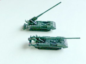 2S7 Pion 203mm SPG 1/285 / 6mm in Frosted Ultra Detail