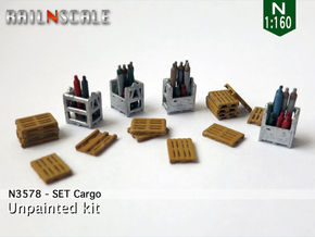 SET Cargo (N 1:160) in Frosted Ultra Detail