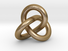 0508 Knot k3.1 in Polished Gold Steel