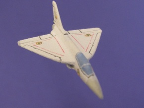 1/285 (6mm) Tejas Fighter (Indian) in White Strong & Flexible