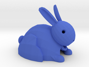 Bunny Key ring in Blue Strong & Flexible Polished