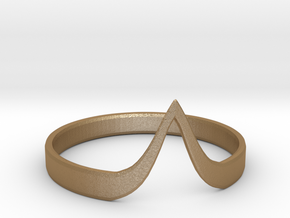 [The Shannara Chronicles] Eretria's Bangle (XL) in Matte Gold Steel