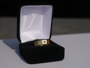 Decagon of Life Ring  in 18k Gold