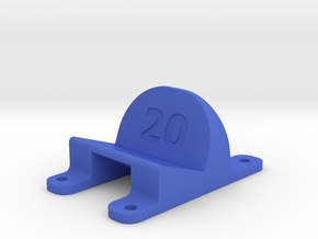 LT210 - 20° Action Cam Mount in Blue Strong & Flexible Polished