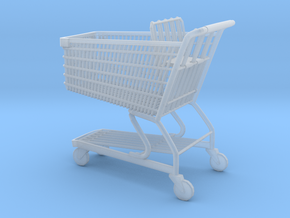 Shopping cart 01. 1:24  in Frosted Ultra Detail