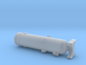 N Scale Pressure Vessel Load in Frosted Extreme Detail