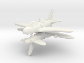 1/200 Chasseur C-13 Wendigo (x2) in White Strong & Flexible