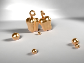Bell Pepper in 14k Gold Plated
