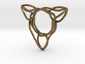 Ring The triangle/ size 6 US (16.5 mm) in Polished Bronze