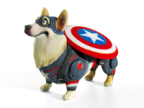 Captain Corgi (America)  in Full Color Sandstone