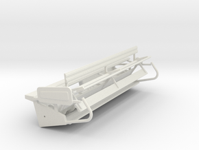 N15 Rigid Head in White Strong & Flexible
