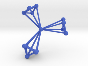 My Third Network in Blue Strong & Flexible Polished