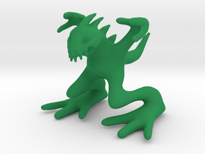 Mister Chup in Green Strong & Flexible Polished