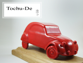 Toys for big boys 2cv in Gloss Red Porcelain