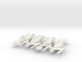 Invader Classic Frigate 4 Sprue in White Strong & Flexible