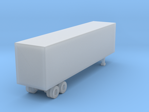 40 Box Trailer Acrylate Z in Frosted Ultra Detail