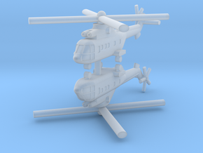 1/350 AS-332 Super Puma (x2) in Frosted Ultra Detail