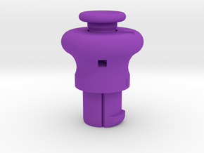 Cylinder Pull Tool in Purple Strong & Flexible Polished