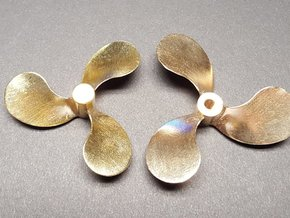 "Propeller 2.25"" LH for 1:8 Scale Monterey Clipper in Raw Brass"