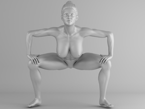 Fitness Girl 007 Scale 1/10 in White Strong & Flexible