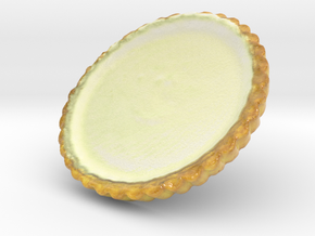 The Cheese Tart in Coated Full Color Sandstone
