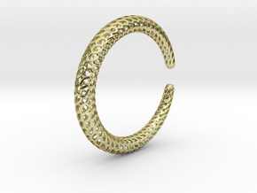 Dragontail Bracelet Thin 65mm in 18k Gold Plated