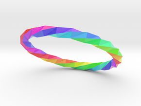 Twistium - Bracelet P=210mm Color in Coated Full Color Sandstone