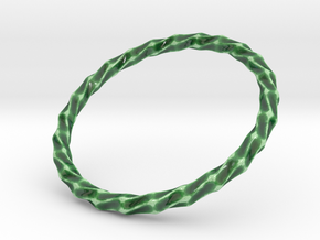 Twistium - Bracelet P=210mm in Gloss Oribe Green Porcelain