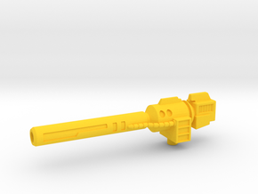 Scatter Blaster for CW Swindle in Yellow Strong & Flexible Polished