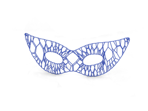 Mask in Blue Strong & Flexible Polished