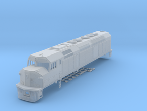 HO Scale EMD F40C (Milwaukee Road) in Frosted Ultra Detail