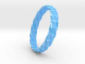 Twistium - Bracelet P=200mm h15 Alpha in Gloss Blue Porcelain
