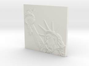 Statue of Liberty in White Strong & Flexible