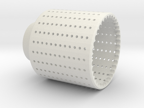 Strainer, Version 3 in White Strong & Flexible