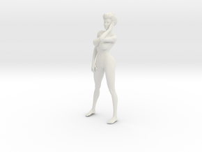 1/9 Elegant lady 017 in White Strong & Flexible